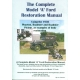 <p>THE COMPLETE MODEL A FORD RESTORATION MANUAL.  WITH HUNDREDS OF CLOSE UP DETAILED COLORED PICTURESS AND EXPLANATORY TEXT FOR EVERY STEP OF THE WAY. BY LES PEARSON</p>